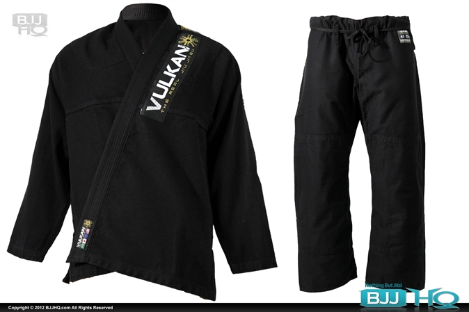 Vulkan PRO Light Black Jiu-Jitsu Gi